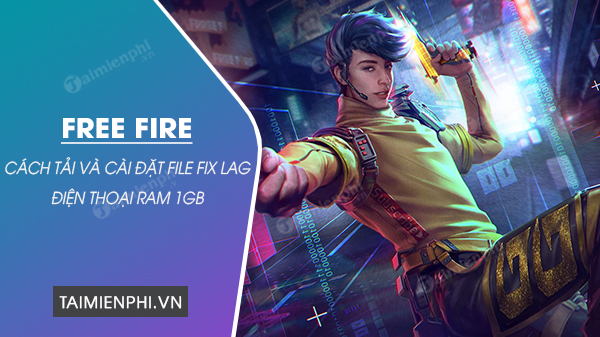 How to download the file fix lag free fire on your phone