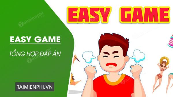 dap an game easy game