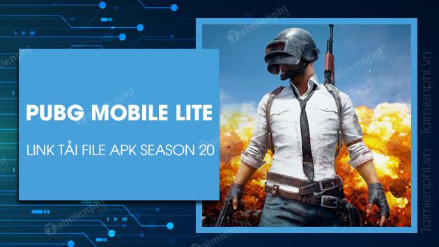 pubg mobile lite season 20 apk download link