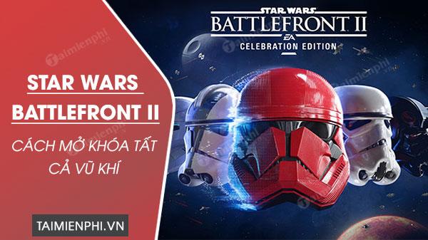 All works in star wars battlefront 2