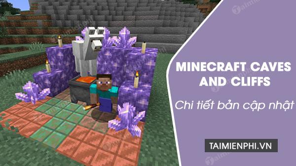 Minecraft minecraft caves and cliffs