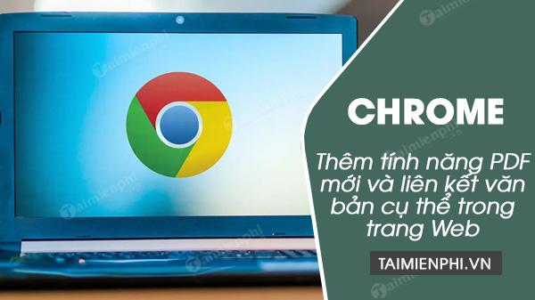 google chrome them tinh nang pdf moi