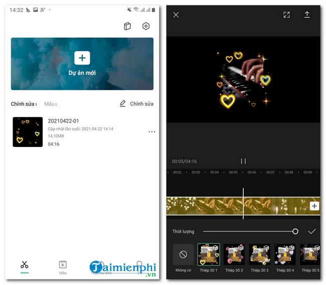 app chinh sua video tiktok
