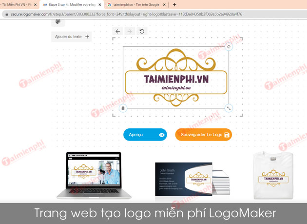 website thiet ke logo online mien phi