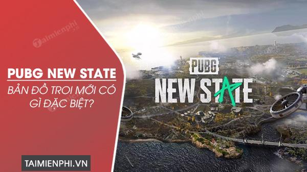 nhung diem moi trong ban do troi pubg new state