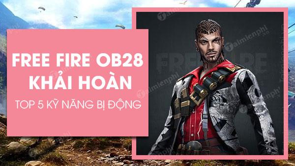 ky nang bi dong trong free fire ob28 khai hoan