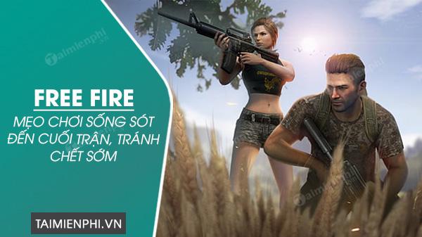cach choi free fire song lau nhat