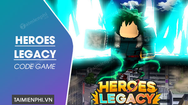 ma code heroes legacy roblox