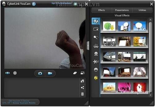 CyberLink YouCam install and use video recording and taking pictures