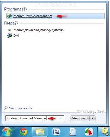 IDM - Cách thay đổi thư mục chứa các file tải về