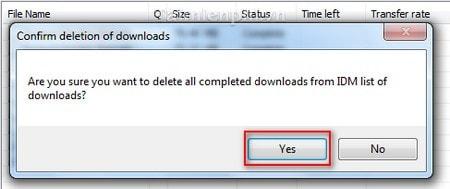 cach xoa file da download idm