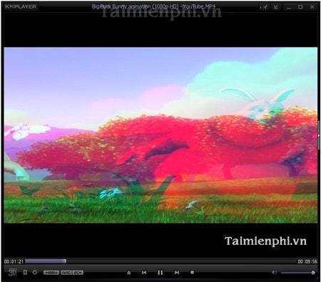 Bật chế độ xem video 3D trên KMPlayer