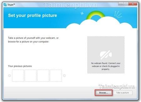 Skype - Changing avatars, avatar