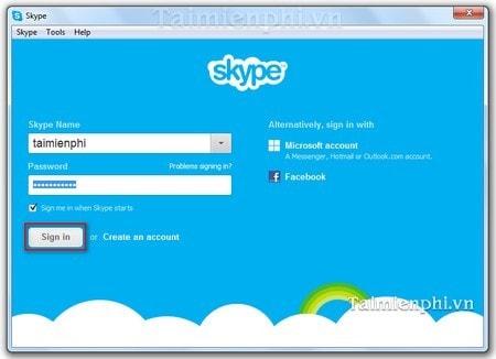 Skype - Từ chối các cuộc gọi Video