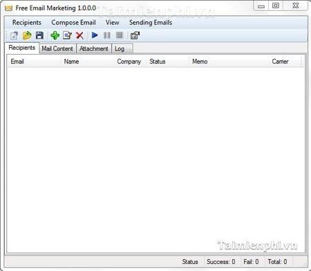 Instruction iWesoft Free Email Marketing, bulk email