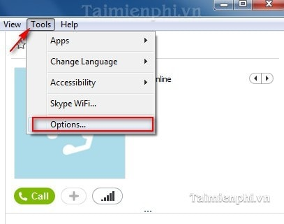 khac phuc, fix loi skype khong hien trang thai online