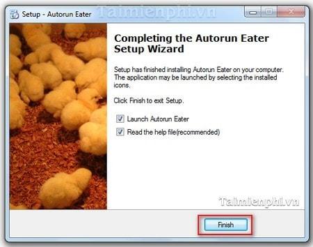 the autorun eater settings