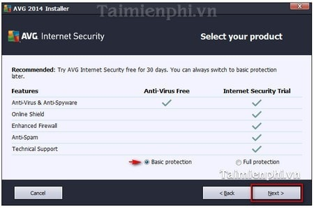 cai dat avg antivirus free edition tren pc