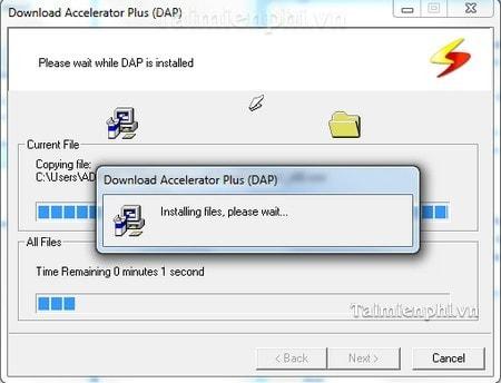 Cách cài Download Accelerator Plus tăng tốc độ tải dữ liệu