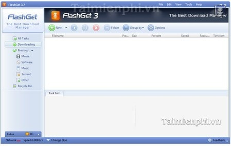 Hướng dẫn cài FlashGet hỗ trợ tải Video Flash
