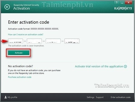 cai kaspersky internet security tren pc