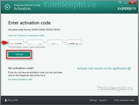 Kaspersky Internet Security on PC