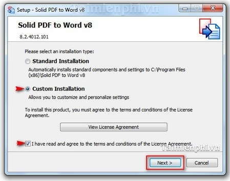 cach cai PDF to Word Converter