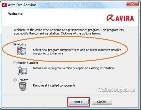 cai dat avira free antivirus