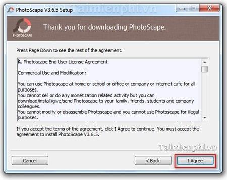 Cách cài PhotoScape chỉnh sửa ảnh trên máy tính