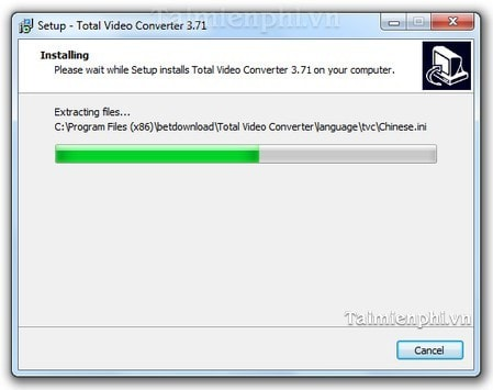 cai dat Total Video Converter