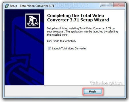 cach cai dat Total Video Converter