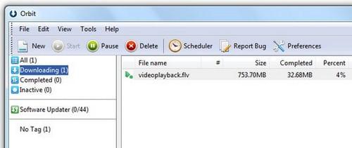 Download video bằng Orbit Downloader nhanh và đơn giản