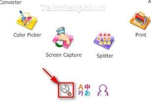 thay doi giao dien menu tron mac dinh trong PhotoScape