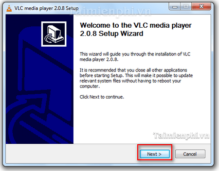cach cai VLC media player