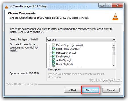 Kết quả hình ảnh cho Cài đặt VLC