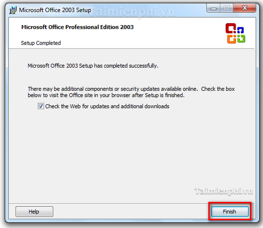 How to install Microsoft Office 2003 word