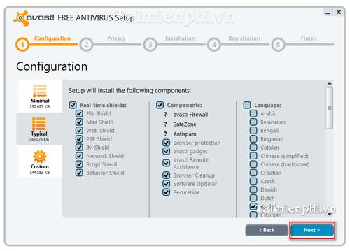Hướng dẫn cài đặt và sử dụng Avast Free Antivirus diệt virus hiệu quả trên máy tính 13