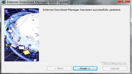 Cách cập nhật IDM bằng tính năng Quick Updates 2
