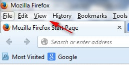 Firefox - Duyệt web ở chế độ Full màn hình