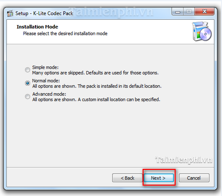 how to install the k-lite codec pack