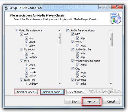 install k-lite codec pack for WMP 12