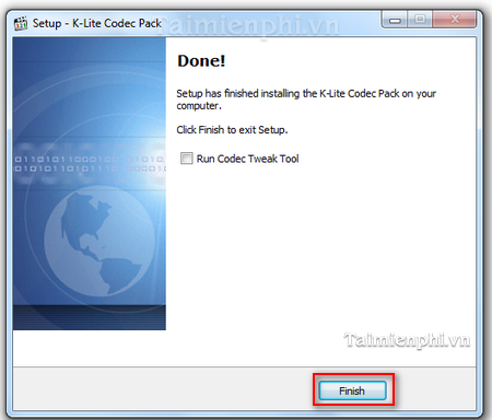 install the k-lite codec pack