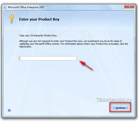 Cài đặt và sử dụng Microsoft Office 2007 trên máy tính