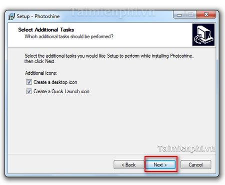 Hướng dẫn cài đặt Photoshine biên tập hình ảnh