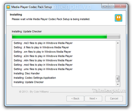 Instructions for Media Player Code Pack for WMP