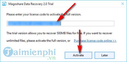 giveaway ban quyen mien phi magoshare data recovery phuc hoi du lieu da mat 4