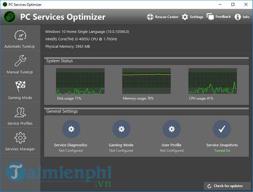 giveaway free license pc services optimizer optimizer 5