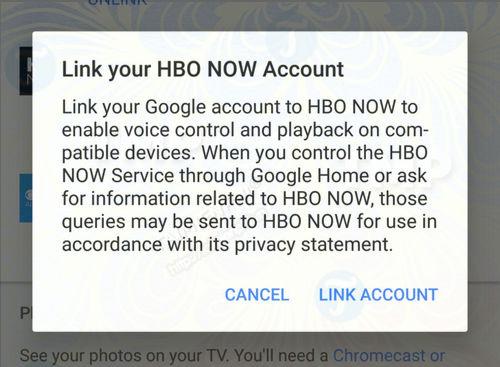 hbo now ho tro tro ly ao google assistant