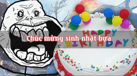 Chúc mừng sinh nhật bựa