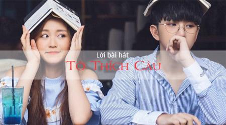 loi bai hat to thich cau